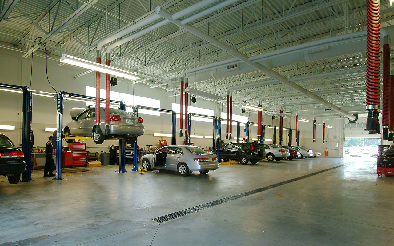 Milestone Constructed The Grappone Honda Facility In 2003. Grappone Honda  Is A State Of The Art Dealership Designed To Hondau0027s Corporate Standards  For Sales ...